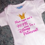 99.9% Disney Princess BabyGro
