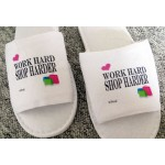 Work Hard, Shop Harder Slippers